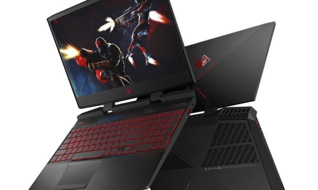 """HP Omen 15-dc1066nf, PC portable 15"""" 144Hz gamer créatif GTX 1660 Ti TB3 (1439€)"""