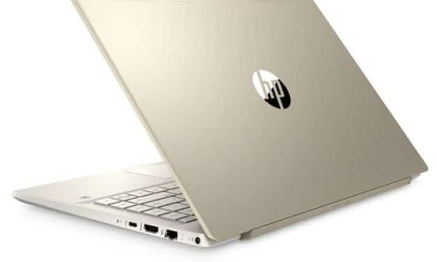 """HP Pavilion 14-ce3004nf, Ultrabook 14"""" Or fin léger rapide SSD 1 To (729€)"""