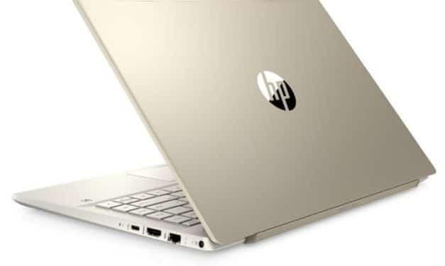 """<span class=""""nouveau"""">Nouveau 729€</span> HP Pavilion 14-ce3004nf, Ultrabook 14"""" Or fin léger rapide SSD 1 To"""