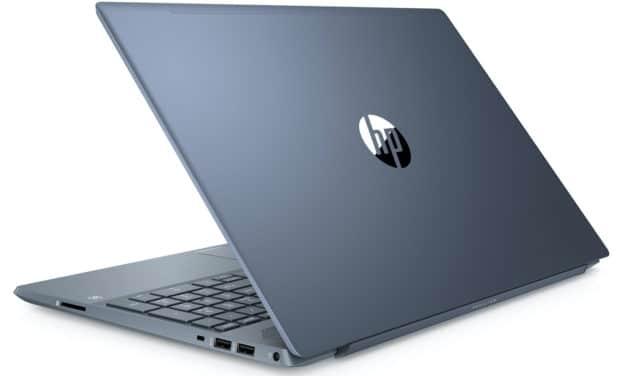 HP Pavilion 15-cw1023nf, ultrabook 15 pouces bleu rapide (499€)