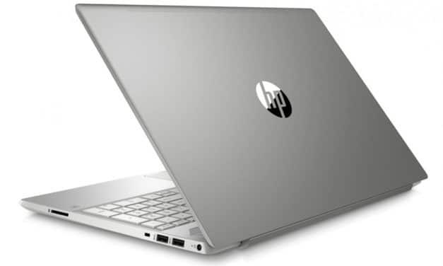 """HP Pavilion 15-cw1024nf, ultrabook 15"""" rapide bureautique (599€)"""