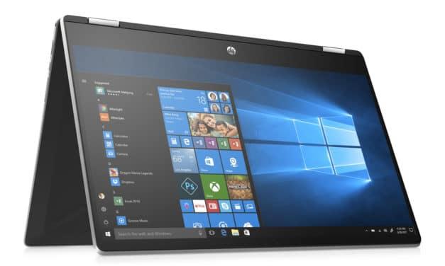"""<span class=""""nouveau"""">Nouveau 902€</span> HP Pavilion 15-dq1006nf, 15 pouces convertible tablette multimédia"""