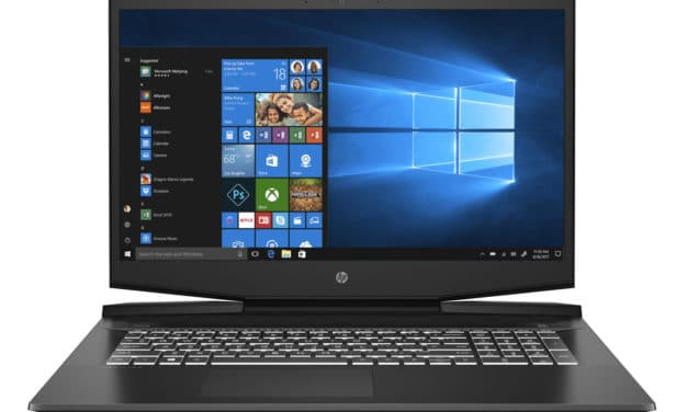 "HP Pavilion Gaming 17-cd0077nf, PC portable 17"" gamer GTX 1650 rapide sans Windows (859€)"