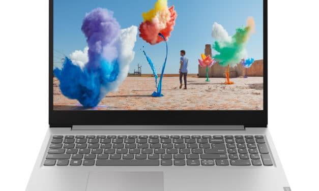 """Lenovo IdeaPad S145-15API (81UT00BPFR), PC portable 15"""" argent pas cher rapide léger (399€)"""