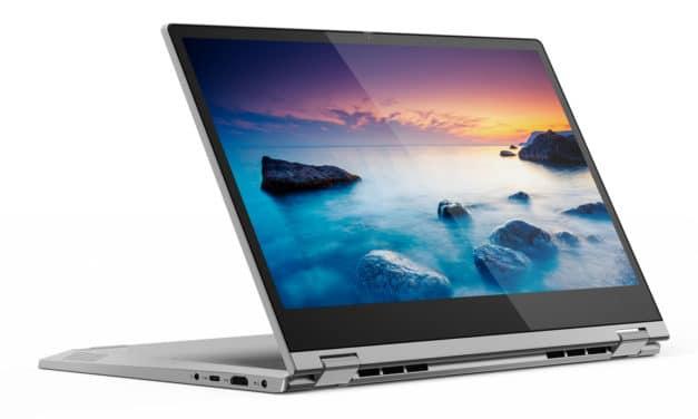 """Lenovo Ideapad C340-14API-302, PC portable 14"""" tactile Tablette polyvalent argent léger (749€)"""
