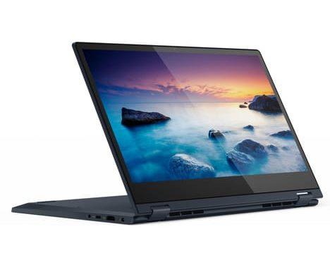 "Lenovo Ideapad C340-14IML-805 (81TK00E3FR), Ultrabook 14"" bleu tactile Tablette rapide léger (899€)"