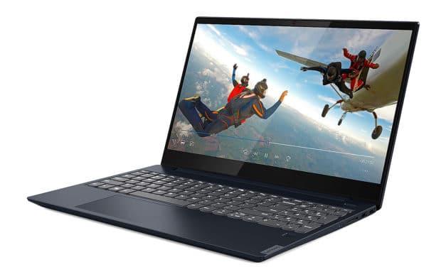 Lenovo Ideapad S340-15IWL-109 (81N80105FR), Ultrabook bleu fin léger rapide gros stockage (749€)