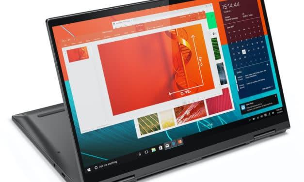 Lenovo Yoga C740-14IML, 14 pouces tablette léger avec stylet et bonne autonomie (999€)