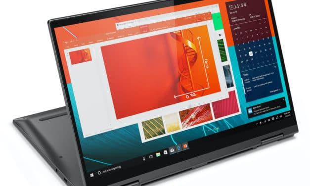 Lenovo Yoga C740-14IML, ultrabook tablette 14 pouces réactif (879€)