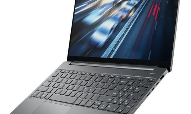 "Lenovo Yoga S740-15IRH, ultrabook 15"" élégant pour polyvalence et jeu (1195€)"