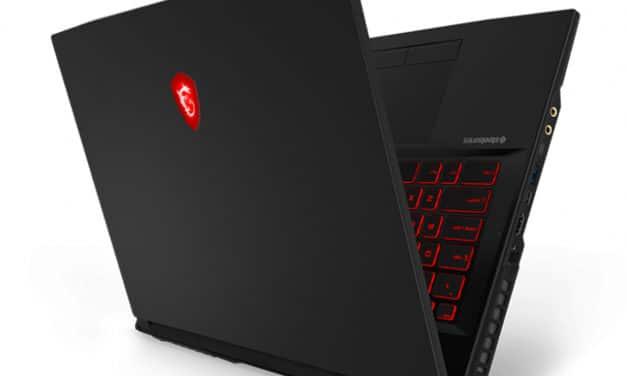 "MSI GL75 9SE-246FR, PC portable 17"" gamer RTX 2060 rapide (1379€)"