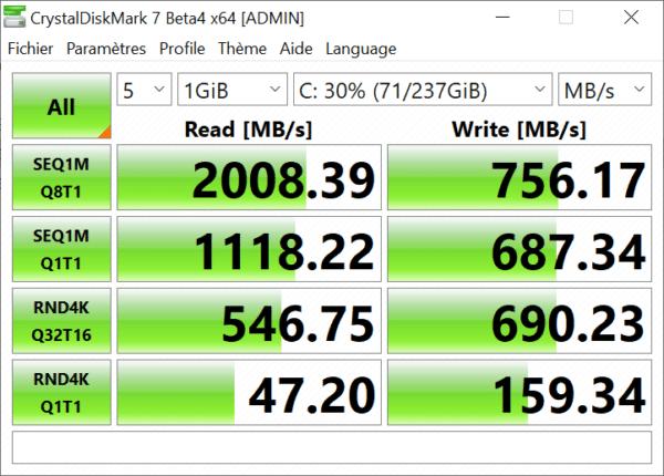 Test Microsoft Surface Laptop 3 15 pouces - SSD 256 Go