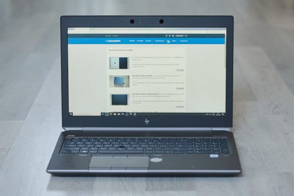 Test HP Zbook G6 15 pouces