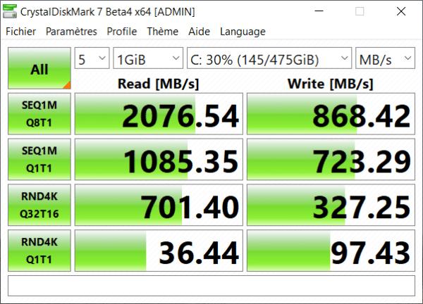Test Microsoft Surface Laptop 3 15 pouces - SSD 512 Go