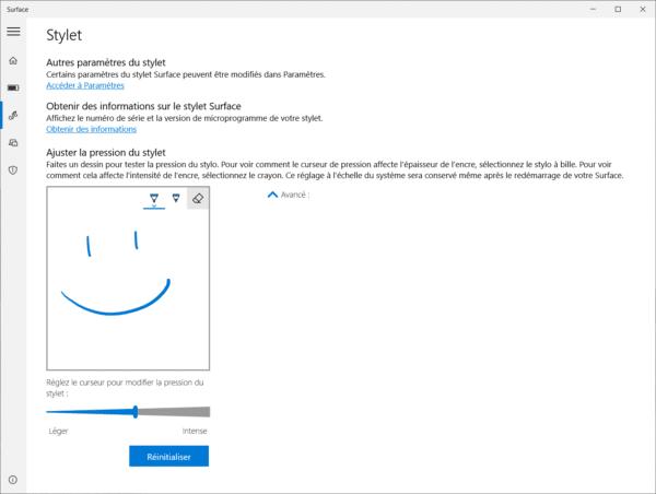 Test Microsoft Surface Laptop 3 15 pouces Stylet