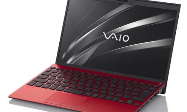 """Vaio SX12, nouvel Ultrabook 12"""" fin et léger de 887 grammes 13h avec Hexa Core Comet Lake"""