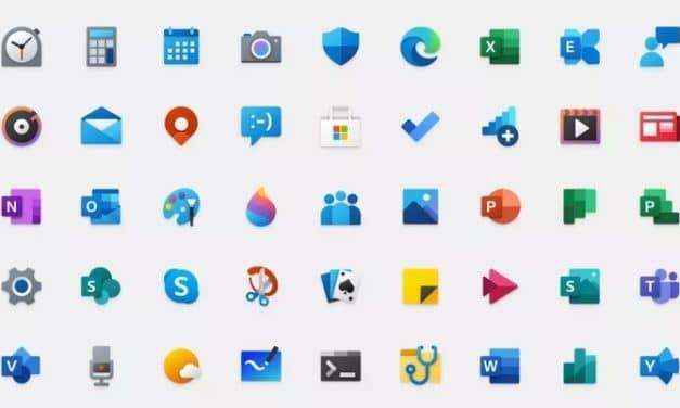 """<span class=""""tagtitre"""">Windows 10 - </span>55 nouvelles icônes colorées Fluent Design dévoilées par Microsoft"""
