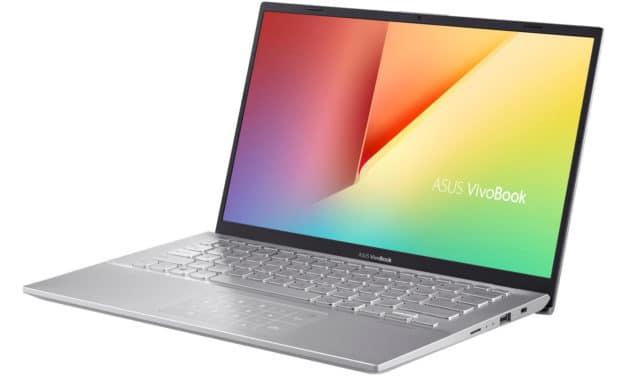 """Asus VivoBook S412FA-EK579T, ultrabook 14"""" avec sacoche et souris (699€)"""