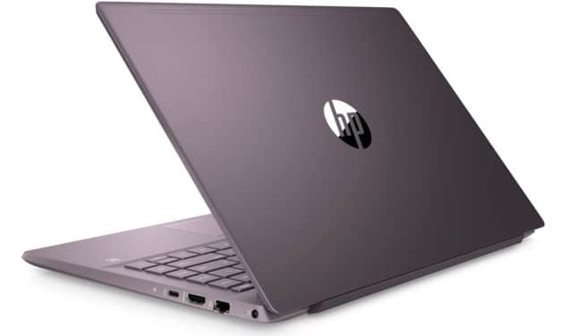 """<span class=""""nouveau"""">Nouveau 729€</span> HP Pavilion 14-ce3005nf, ultrabook violet 14"""" rapide avec SSD 1 To"""