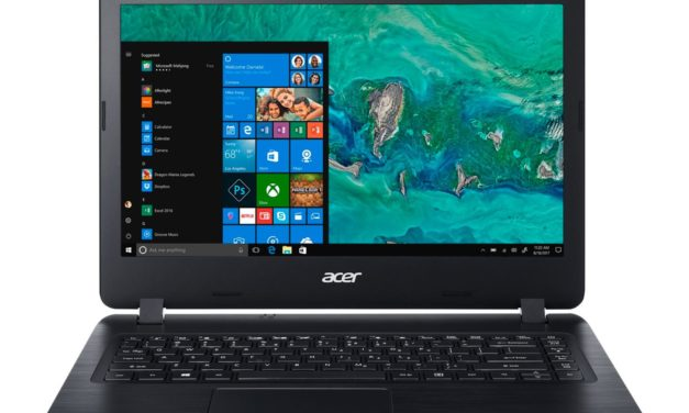 Acer Aspire A314-41-63HQ, 14 pouces bureautique avec graveur CD/DVD et 1,1 To de stockage (399€)
