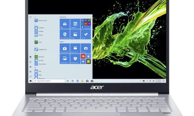 Test Acer Swift 3 SF313-52 : revue de presse des reviews du web