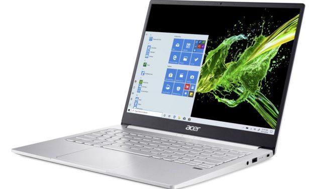 Acer Swift SF313-52-51MQ, 13 pouces léger QHD 3:2 multimédia (849€)