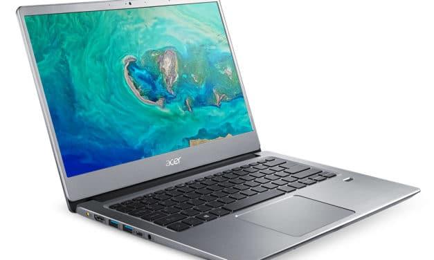 Acer Swift SF314-41-R9QB, ultrabook 14 pouces rapide (499€)