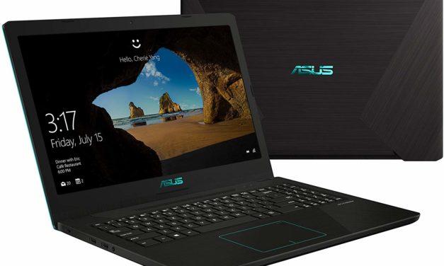 Asus FX570DD-DM036T, PC portable polyvalent jeu réactif et sobre (749€)