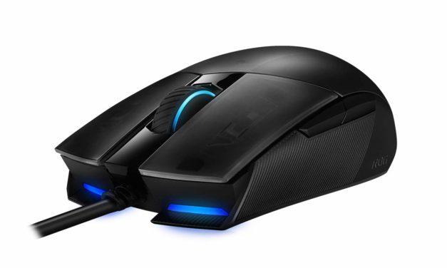 Asus ROG Strix Impact II, souris filaire ambidextre légère ciblant les joueurs