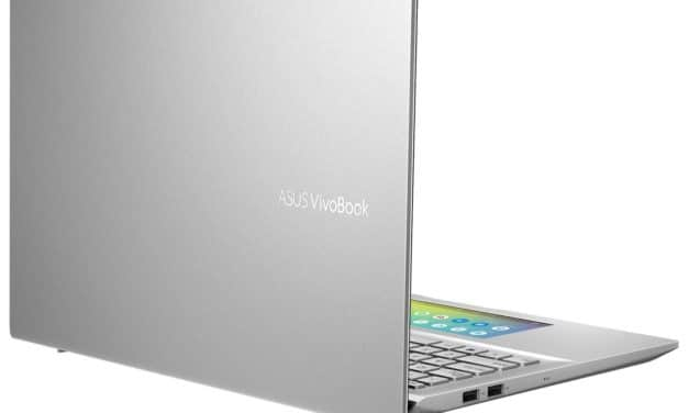 Asus VivoBook S532FA-BN025T, ultrabook 15 pouces productif ScreenPad (1009€)