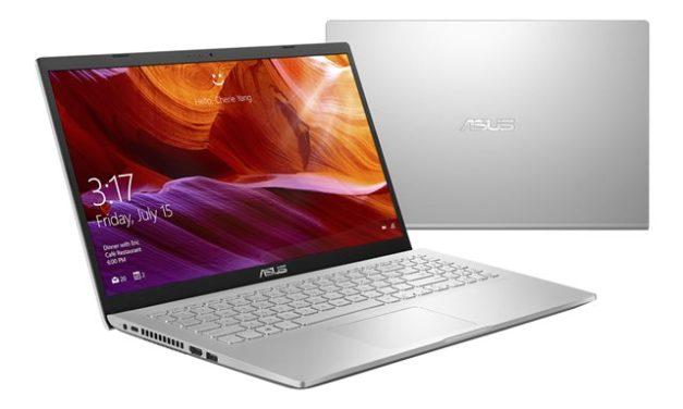 """<span class=""""nouveau"""">Nouveau 439€</span> Asus X509MA-EJ056T, PC portable 15"""" argent pas cher léger et rapide"""
