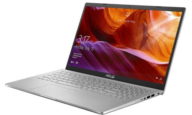 """Asus X509UA, PC portable 15"""" léger argent gros stockage 1500 Go avec SSD, sacoche et souris (609€)"""