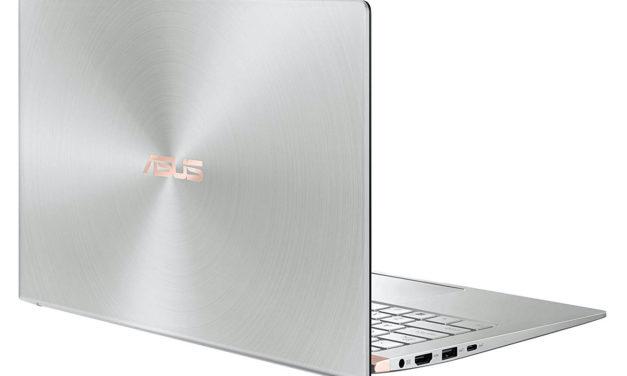 Asus ZenBook UX433FA-A5201T, 14 pouces léger et design avec pavé numérique (929€)