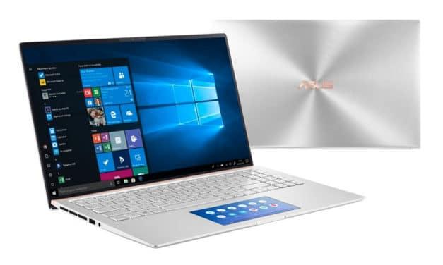 """Asus Zenbook UX534FAC-A8045R, Ultrabook 15"""" Pro argent ScreenPad rapide léger 8h (1062€)"""