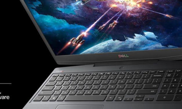 Dell G5 Special Edition, nouveau PC portable avec Ryzen 4000H Renoir et Navi Radeon RX 5600M