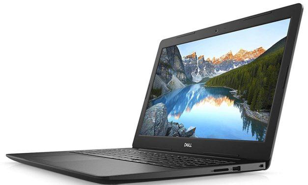 """Dell Inspiron 15 3593, PC portable 15"""" noir polyvalent rapide SSD MX230 (649€)"""