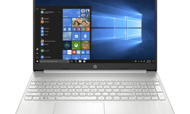 "HP 15s-eq0036nf, PC portable 15"" argent rapide SSD 512 Go léger + pack (469€)"