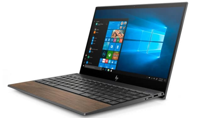 "HP Envy 13-aq1007nf, Ultrabook 13"" finition bois fin léger rapide 8h30 Wi-Fi ax (1199€)"