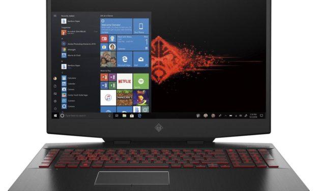 HP Omen 17-cb0024nf, PC gamer intensif 17 pouces 144Hz RTX 2080 (2189€)
