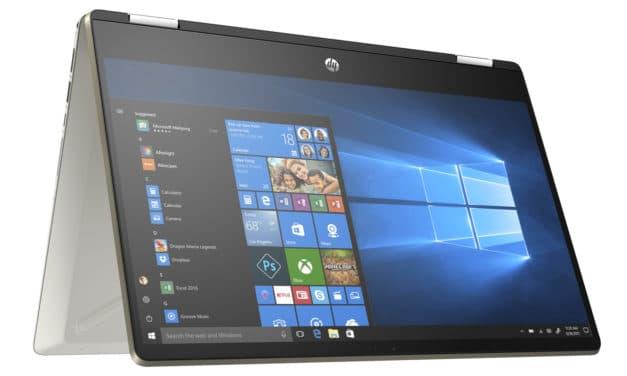 """<span class=""""nouveau"""">Nouveau 899€</span> HP Pavilion x360 14-dh1006nf, Ultrabook 14"""" tactile polyvalent Tablette gros stockage rapide léger"""
