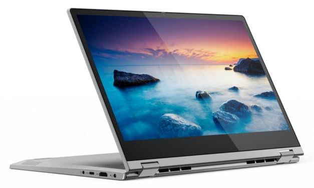 Lenovo Ideapad C340-14API, 14 pouces tablette tactile pas cher (382€)