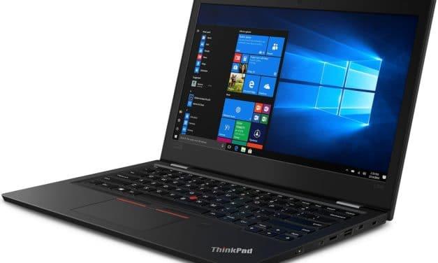 "Lenovo ThinkPad L390 (20NR0011FR), Ultrabook 13"" Pro noir Alu rapide léger 7h (799€)"