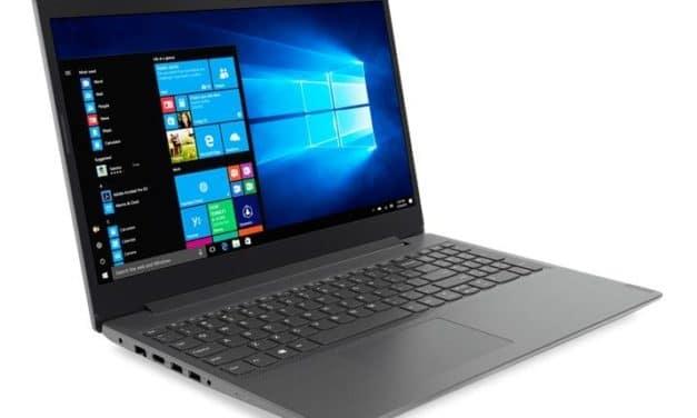 "Lenovo V155-15API (81V50004FR), PC portable 15"" argent rapide SSD CD/DVD (457€)"