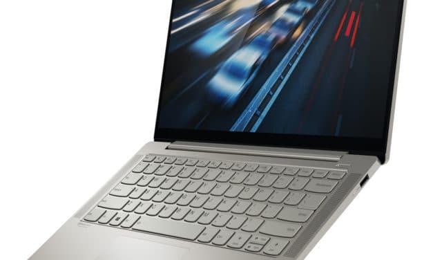Lenovo Yoga S740-14IIL, ultrabook 14 pouces métal avec IA et TB3 (800€)