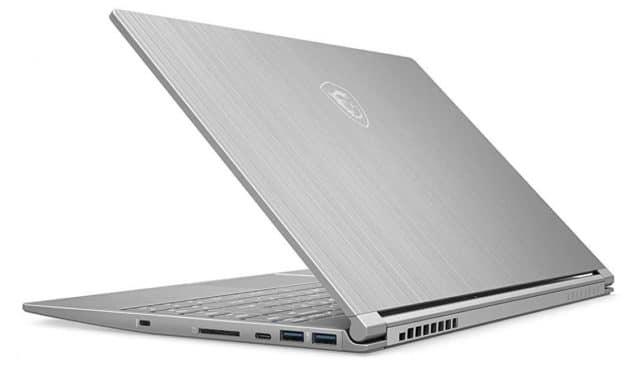 """MSI Modern 14 A10M-449XFR, Ultrabook 14"""" argent élégant léger rapide léger 7h sans Windows (698€)"""