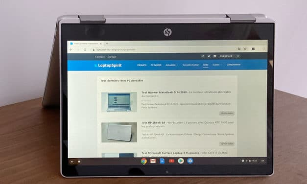 "<span class=""tagtitre"">Test HP Chromebook x360 12 - </span>Un Chromebook convertible en tablette pas cher"