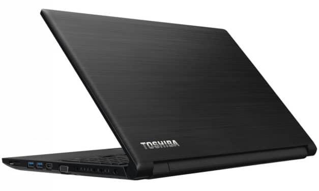 """Toshiba Satellite Pro R50-E-127, PC portable 15"""" noir Pro 7h bureautique pas cher CD/DVD (417€)"""