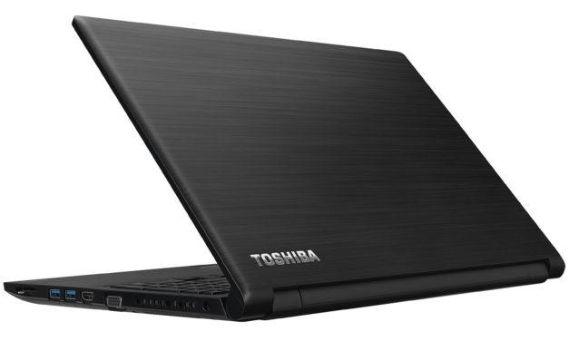 """Toshiba Satellite Pro R50-E-15Z, PC portable 15"""" noir nomade CD/DVD gros stockage 7h (378€)"""