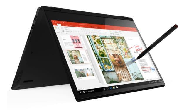 Lenovo IdeaPad C340-14IWL, 14 pouces productif convertible en tablette SSD 1 To (1159€)