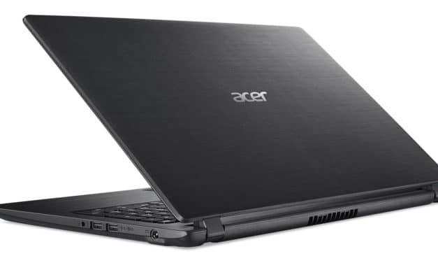 """Acer Aspire 3 A315-34-P29B, PC portable 15"""" noir bureautique pas cher gros stockage fin et léger (399€)"""